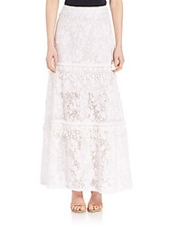 Elie Tahari Tayla Skirt Optic White