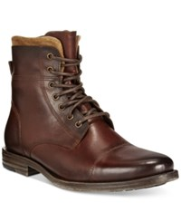 Kenneth Cole Reaction Steer The Wheel Boots Men's Shoes Brown