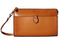 Lodis Audrey Vicky Convertible Crossbody Clutch Toffee Chocolate Clutch Handbags Tan