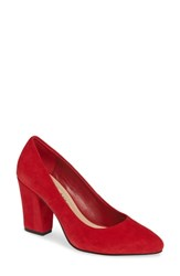 Bella Vita Gigi Pump Red Suede