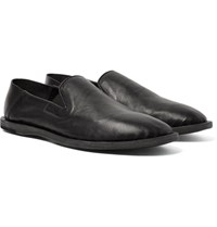Officine Creative Felix Leather Loafers Black