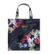 Harrods Small Floral Collection Gusset Bag Unisex