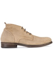 Fiorentini Baker 'Baby Bronx Torba' Desert Boots Men Leather Suede Wood 45 Brown