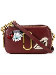 Marc Jacobs Vintage Collage Snapshot Crossbody Bag Red