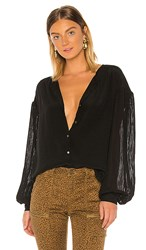 Joie Kevia Blouse In Black. Caviar