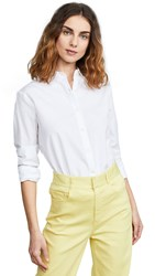 Kule Button Down Shirt White