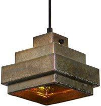 Tom Dixon Lustre Square Pendant Light