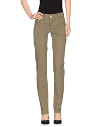 Marithe' F. Girbaud Marithe Francois Girbaud Trousers Casual Trousers Women Military Green
