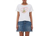 Re Done Women's 1950S Boxy Tee White