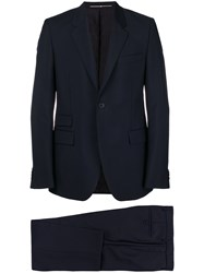 Givenchy Tailored Two Piece Suit Blue