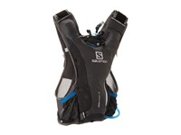 Salomon Skin Pro 3 Set Iron Bright Blue Backpack Bags Black