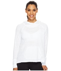 New Balance Hatha Hoodie White Women's Sweatshirt