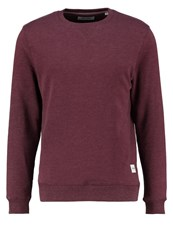 Only And Sons Fana Sweatshirt Sassafras Bordeaux