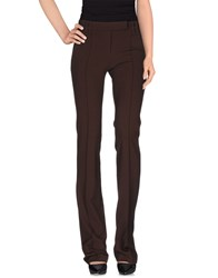 Plein Sud Jeans Plein Sud Trousers Casual Trousers Women Dark Brown
