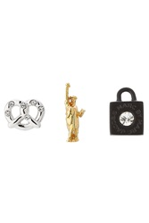 Marc By Marc Jacobs Multipack Of Mixed Stud Earrings Multicolor