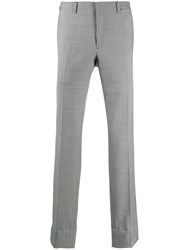 Brioni Straight Leg Tailored Trousers Black