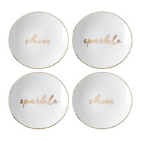 Kate Spade Oh What Fun 'Spakle And Shine' Tidbit Plates Set Of 4