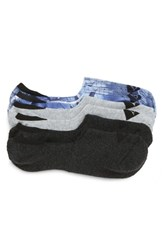 Sperry 3 Pack Cushion Liner Socks Blue