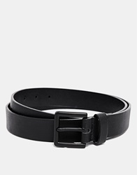 New Look Belt With Textured Print Black