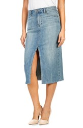 Paige Women's Leanne Denim Skirt