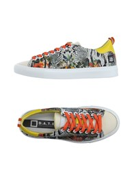 D.A.T.E. Footwear Low Tops And Trainers Women Light Grey