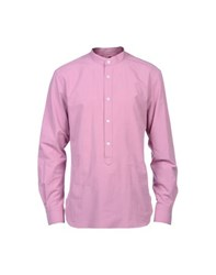 Mp Massimo Piombo Shirts Shirts Men Light Purple