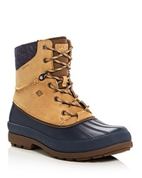 Sperry Cold Bay Sport Lace Up Boots Taupe