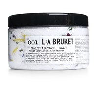 L A Bruket Marigold Orange And Geranium Bath Salts