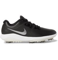 Nike Golf Vapor Pro Faux Leather Golf Shoes Black