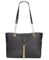 Inc International Concepts Yvvon Tote Only At Macy's Black