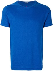 Homecore Classic Fitted T Shirt Blue