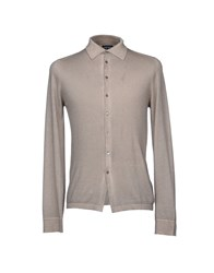 Zanieri Shirts Shirts Dove Grey