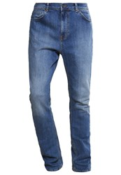 Kiomi Jeans Tapered Fit Mid Blue Blue Denim