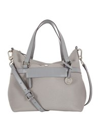 Lodis N The Mix Under Lock And Key Miriam Leather Satchel Cement