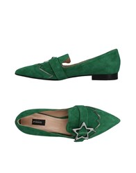 Pinko Loafers Green