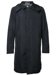 Guild Prime Long Trench Coat Blue