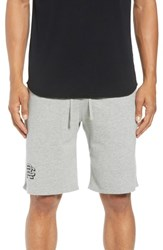 Reigning Champ Shorts Lightweight Classic Fit Knit Shorts Heather Grey