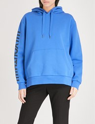 Izzue Youth Cotton Blend Hoody Blue