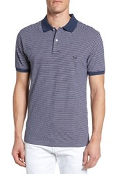 Rodd And Gunn Men's Surville Sports Fit Stripe Polo Grape