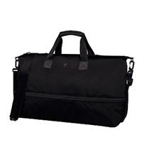 Victorinox Swiss Army Werks 5.0 Oversized Carryall Tote With Drop Down Expansion Black