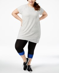 Ideology Plus Size Tunic Whisper Heather