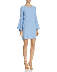 Aqua Bell Sleeve A Line Dress 100 Exclusive Blue