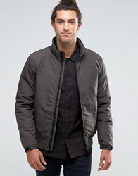 Esprit Bomber Jacket Dark Khaki Green