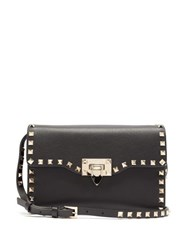 Valentino Rockstud Small Leather Cross Body Bag Black
