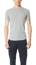 Wings Horns Base T Shirt Heather Grey