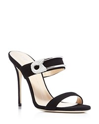 Giuseppe Zanotti Mis Slide High Heel Sandals Black