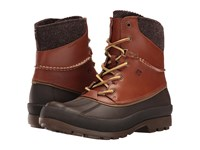 Sperry Cold Bay Boot W Vibram Arctic Grip Tan Men's Cold Weather Boots