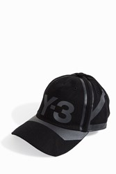 Y 3 Reflective Baseball Cap Black