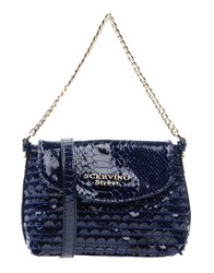 Ermanno Scervino Street Handbags Dark Blue