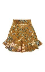 Zimmermann Tropical Floral Flutter Shorts